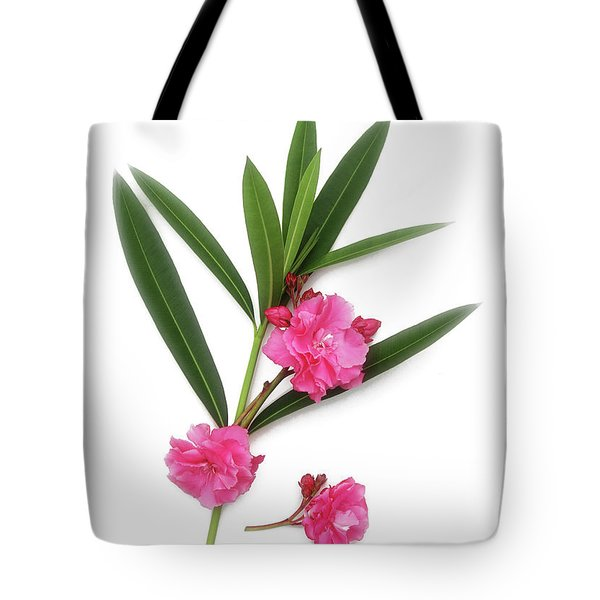 Tote Bag featuring the photograph Cog  Nerium Oleander Splendens Giganteum by Wilhelm Hufnagl