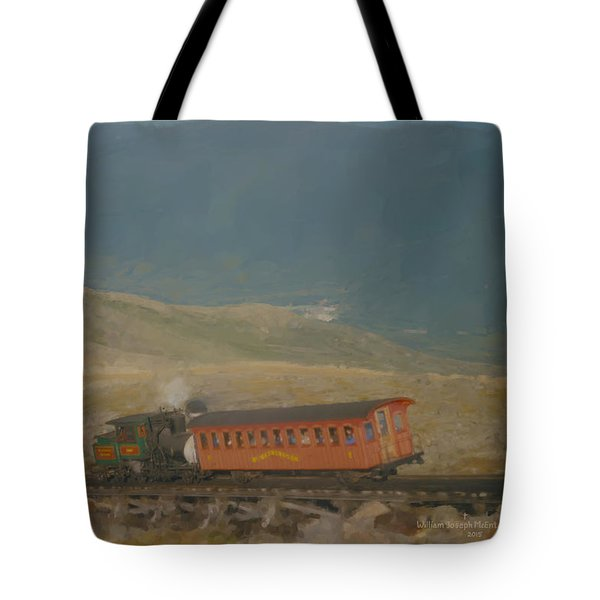Cog Railway Mount Washington Tote Bag