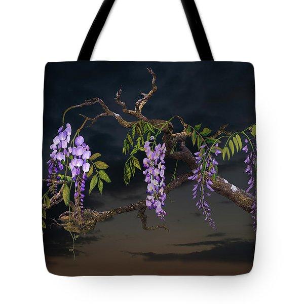 Cogan's Wisteria Tree Tote Bag