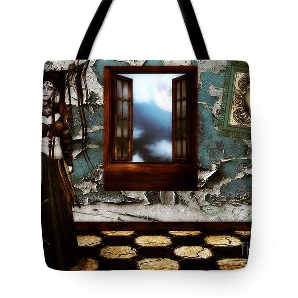 Cogitatione Abstracta Tote Bag