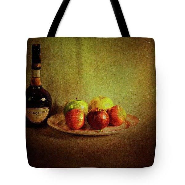 Cognac And Fruits Tote Bag