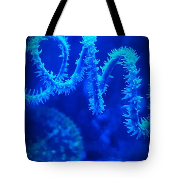 Coil Coral Tote Bag