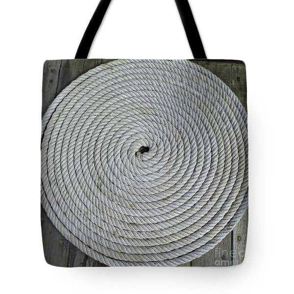 Coiled By D Hackett Tote Bag