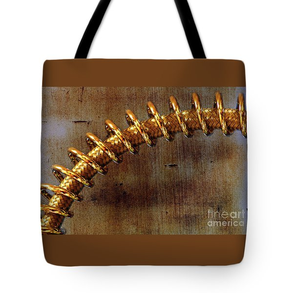 Tote Bag featuring the photograph Coiled By Kaye Menner by Kaye Menner