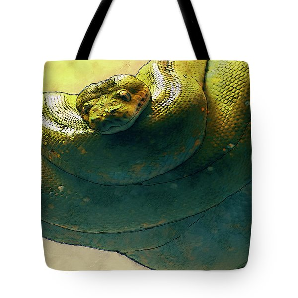 Coiled Tote Bag by Jack Zulli