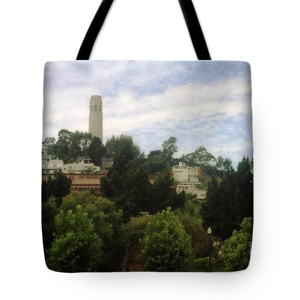coit Tower San Francisco Tote Bag