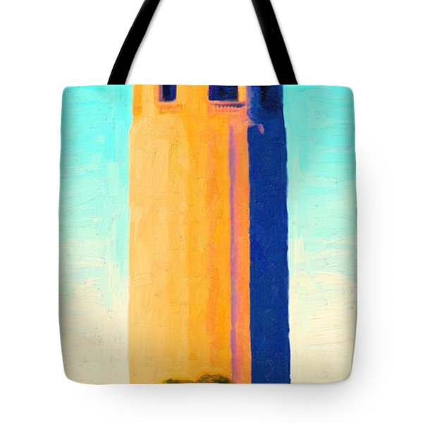 Coit Tower San Francisco Tote Bag by Wingsdomain Art and Photography