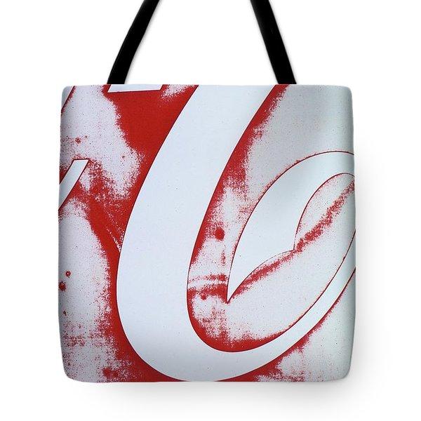 Coke 3 Tote Bag