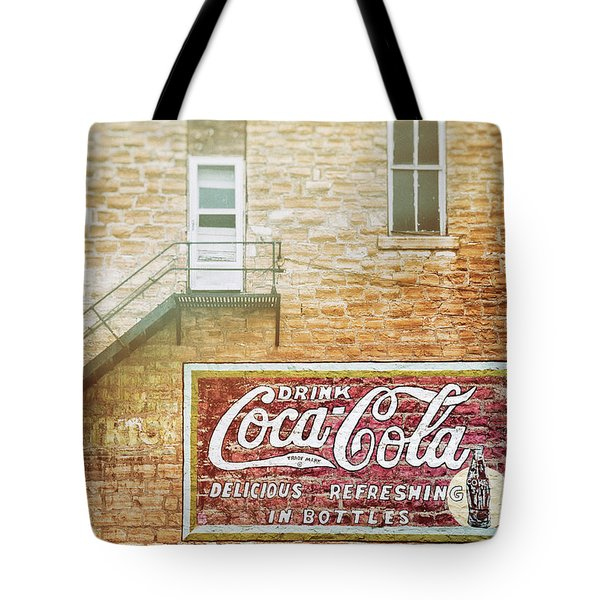 Coke Classic Tote Bag by Darren White