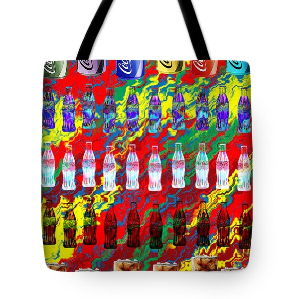Coke Life, Happy Life Tote Bag