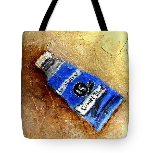 Colbalt Blue Tote Bag
