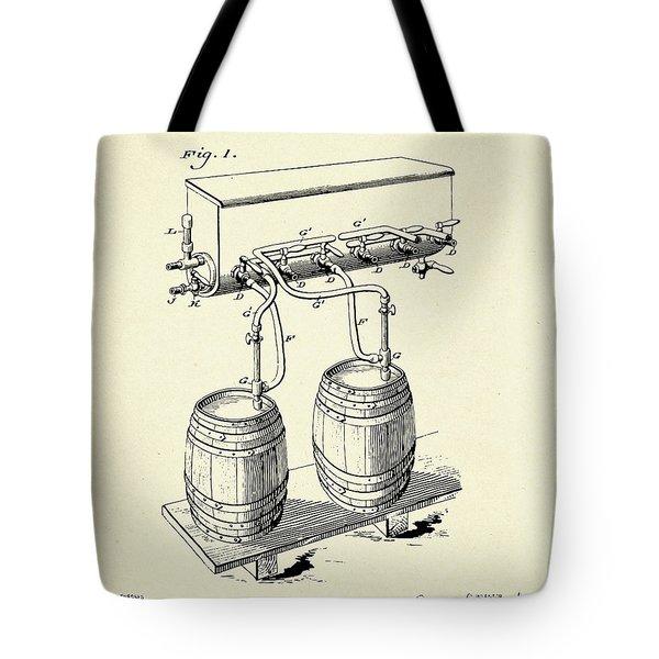 Cold Air Pressure Apparatus-1900 Tote Bag
