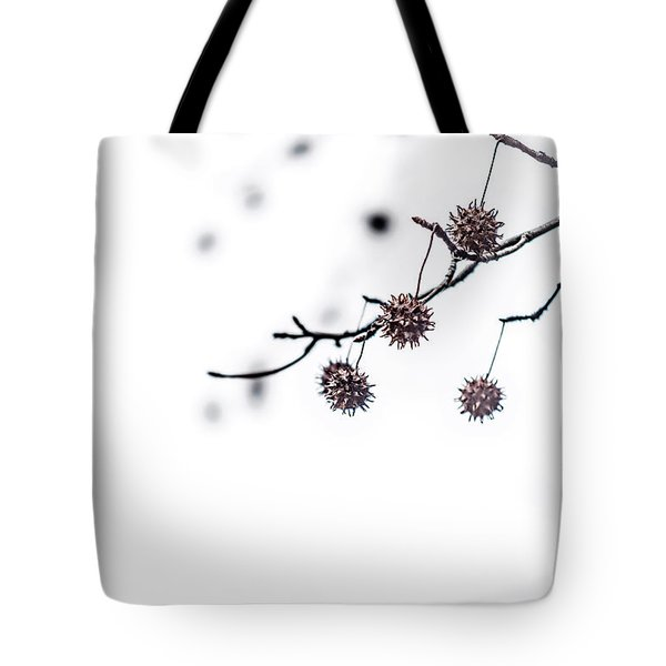 Cold And Pointy Tote Bag
