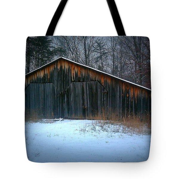 Cold Barn Tote Bag