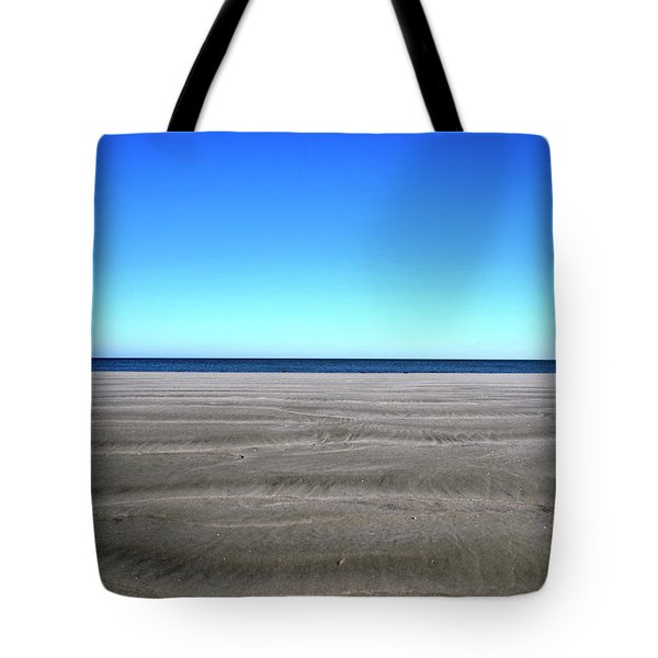 Cold Beach Day Tote Bag