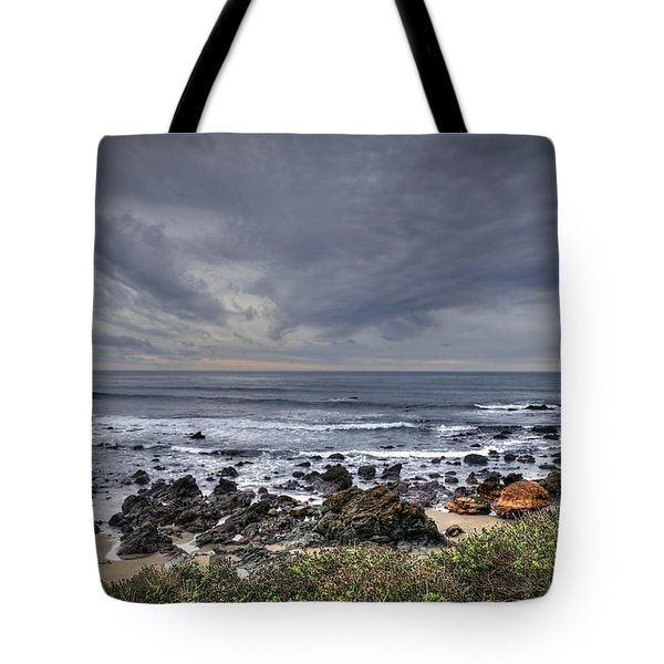 Cold Beach Tote Bag