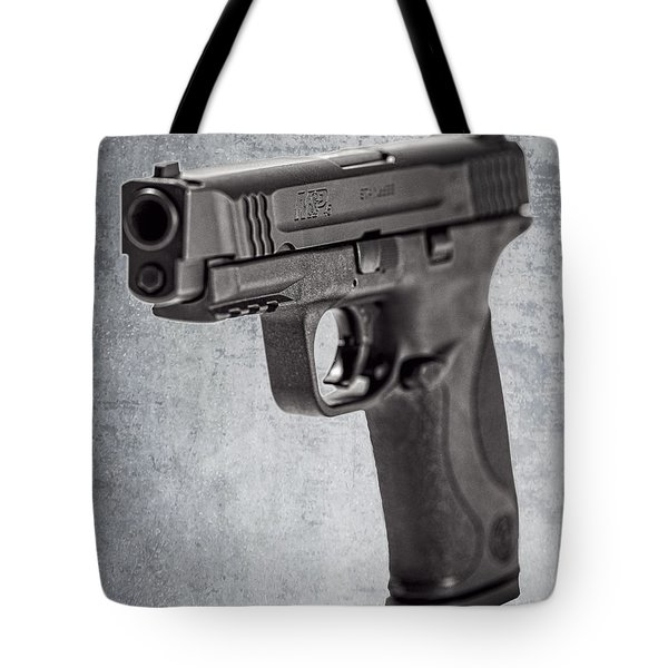 Cold, Blue Steel Tote Bag