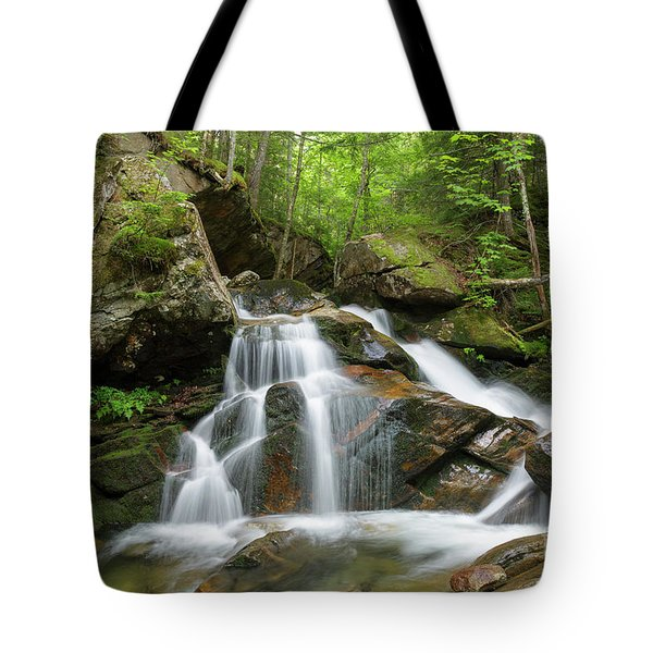 Cold Brook - White Mountains New Hampshire Tote Bag