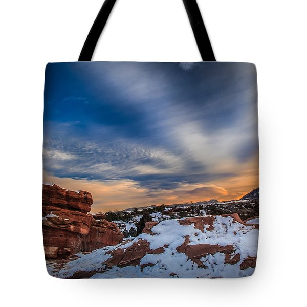 Cold Comfort Tote Bag by Philip Esterle