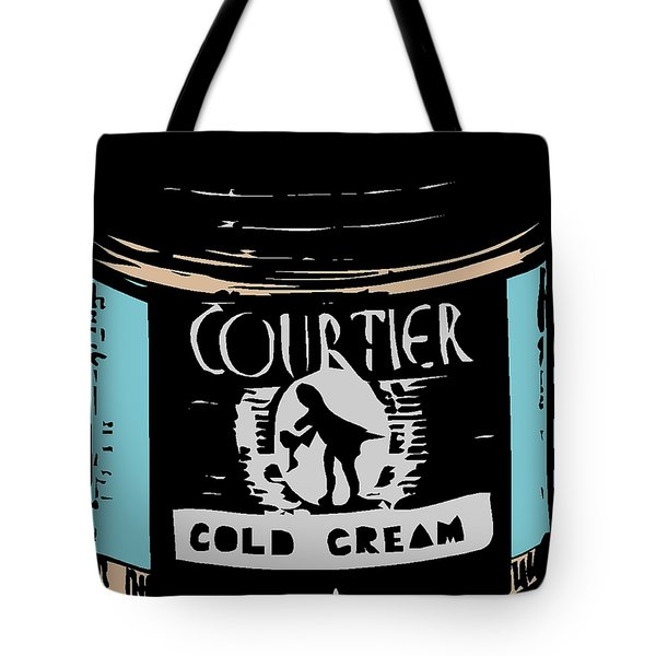 Tote Bag featuring the digital art Cold Cream by ReInVintaged