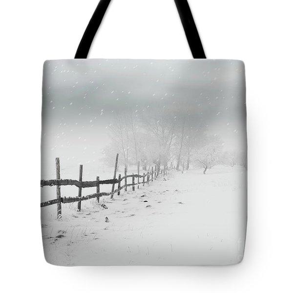 Cold Crow Tote Bag