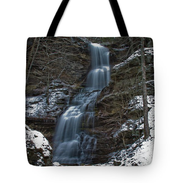 Cold Day At The Cathedral Tote Bag