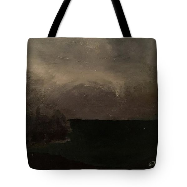 Cold Fog And Sea Tote Bag