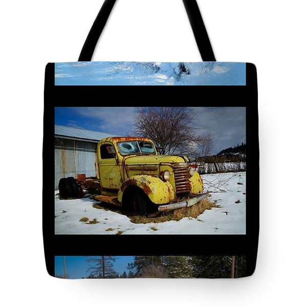 Cold Guys Tote Bag by Idaho Scenic Images Linda Lantzy