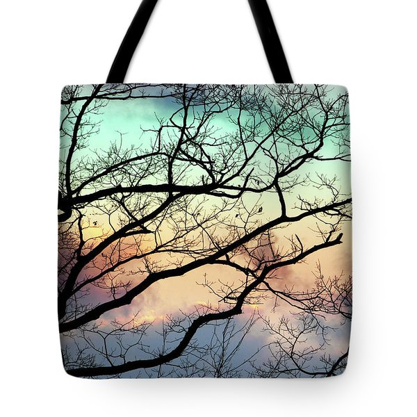 Cold Hearted Bliss Tote Bag by Christina Rollo