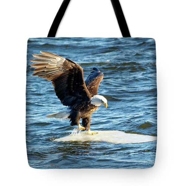Cold Landing Tote Bag