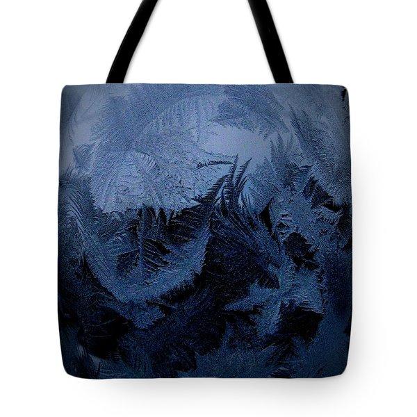 Cold Moon Rising Tote Bag