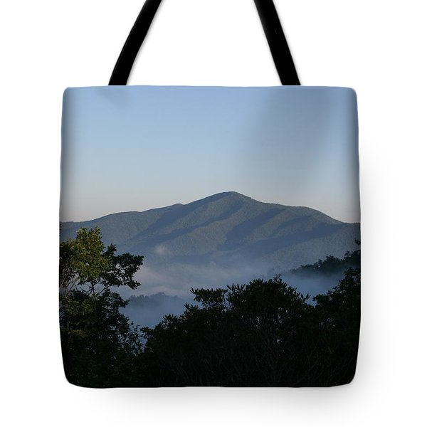 Cold Mountain North Carolina Tote Bag