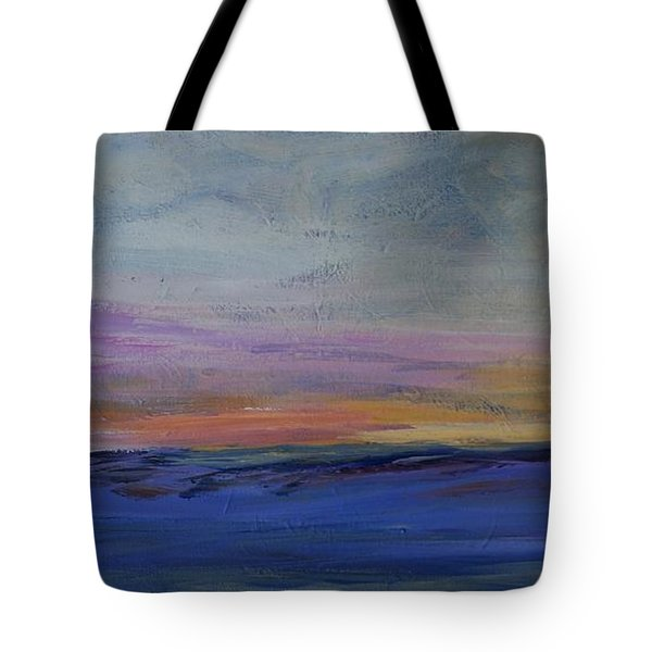 Cold Night Coming Soon Tote Bag