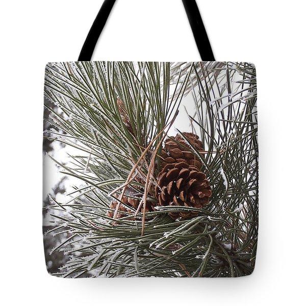 Cold Pine Tote Bag
