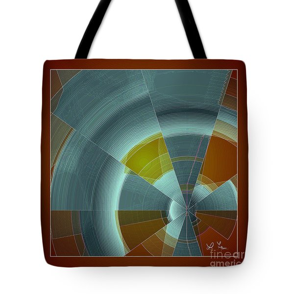 Cold Rays Tote Bag by Leo Symon