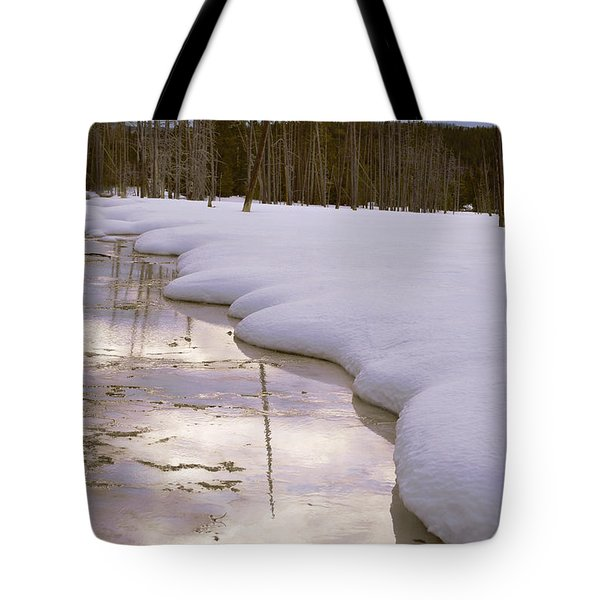 Cold Reflections Tote Bag