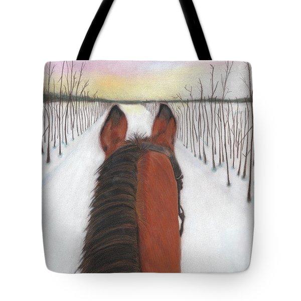 Cold Ride Tote Bag