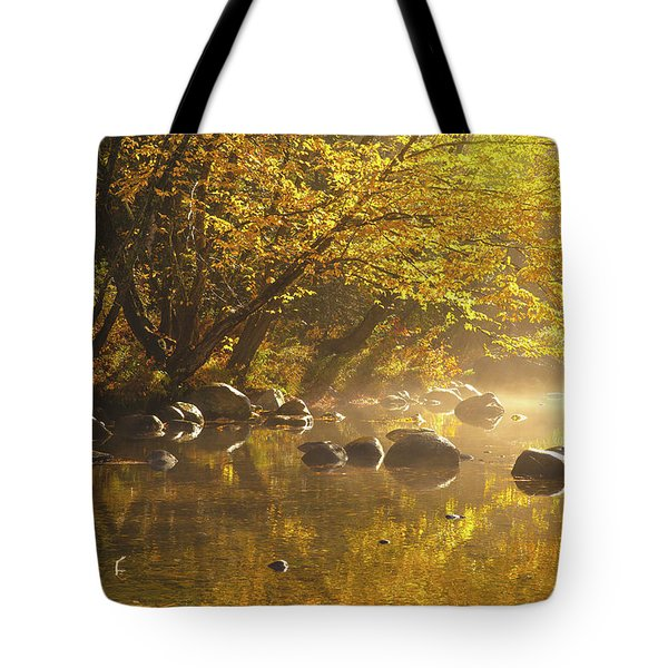 Cold River Tote Bag