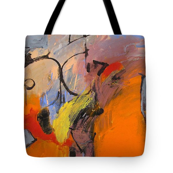 Tote Bag featuring the painting Cold Shoulder  by Cliff Spohn