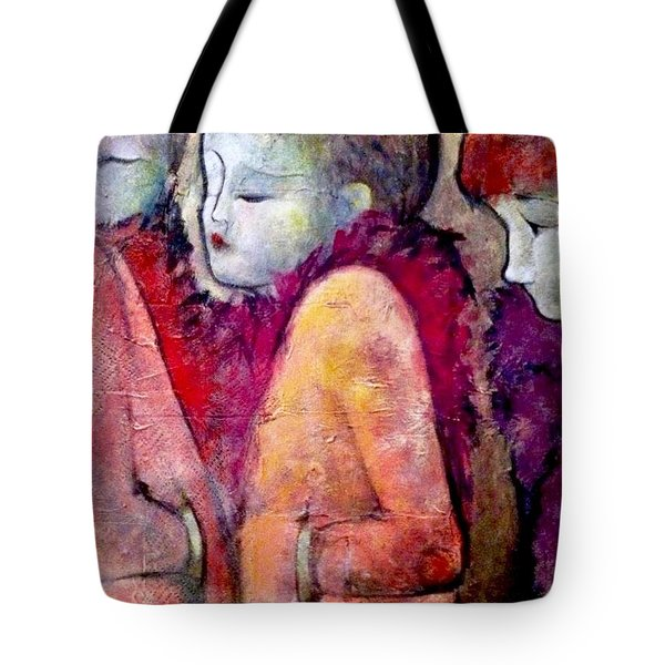 Cold Shoulders Tote Bag