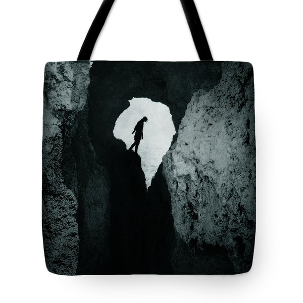 Cold Silence Tote Bag by Cambion Art