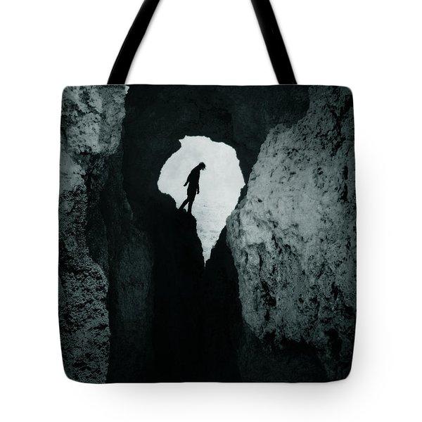 Cold Silence Tote Bag