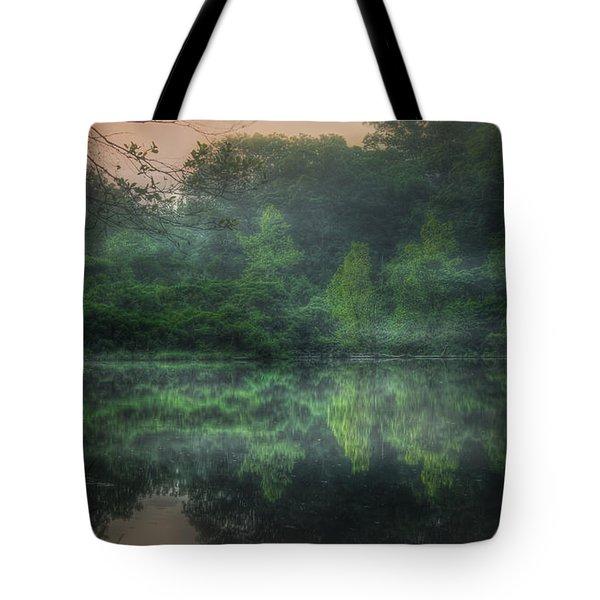 Cold Spring Lake Tote Bag