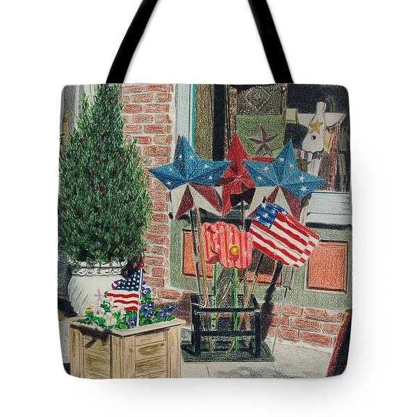 Cold Spring Window Left Tote Bag