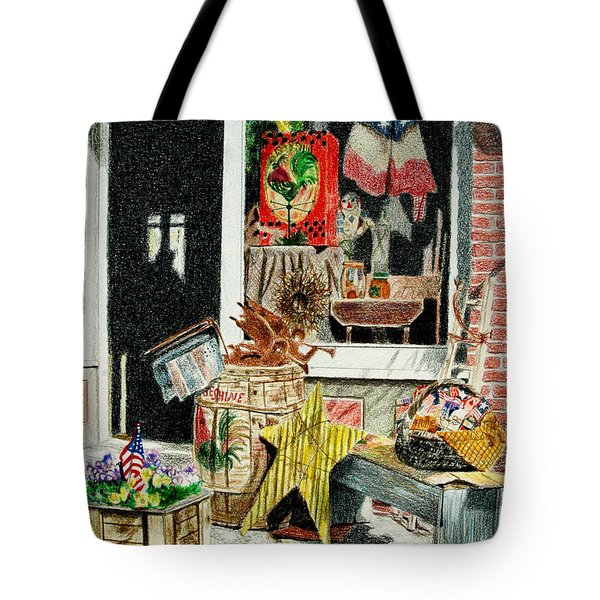 Cold Spring Window Right Tote Bag