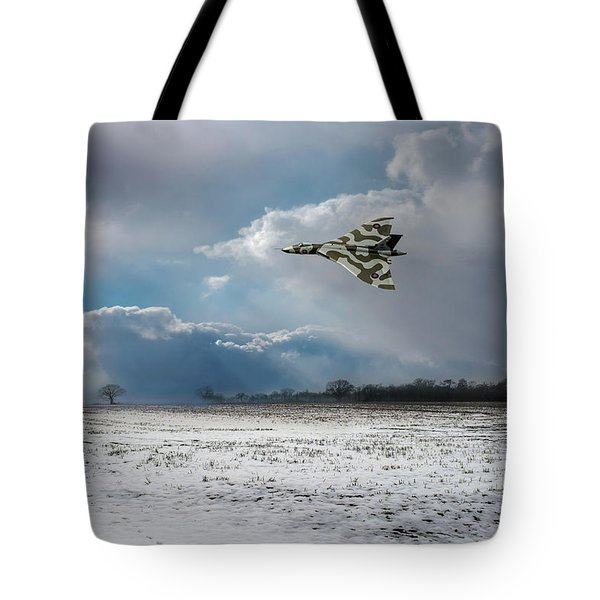 Tote Bag featuring the photograph Cold War Warrior by Gary Eason
