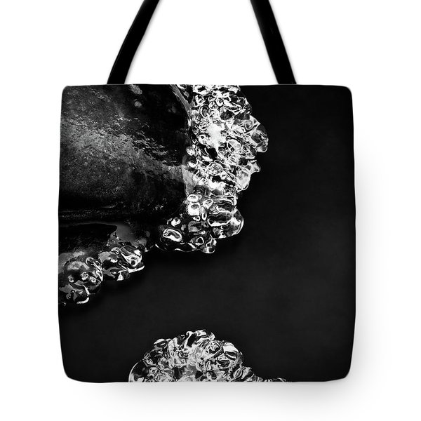 Cold White Diamonds Tote Bag by Darren White