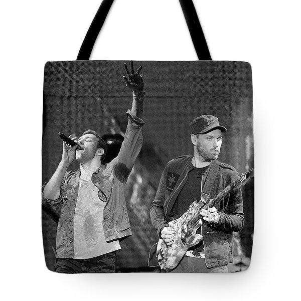 Coldplay 14 Tote Bag by Rafa Rivas