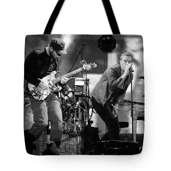 Coldplay 15 Tote Bag by Rafa Rivas