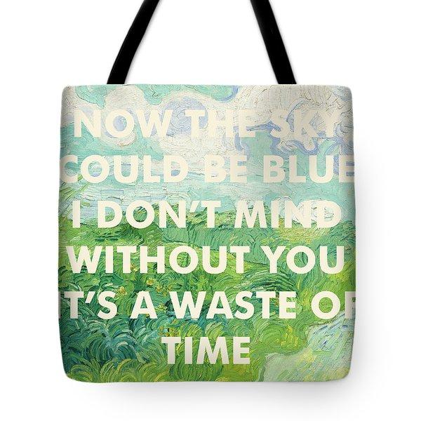 Coldplay Lyrics Art Print Tote Bag